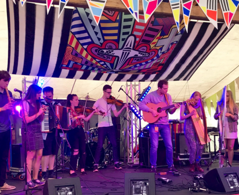 Video of AVANC at Tafwyl 2019