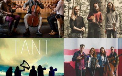 Best Emerging Artist or Band shortlist