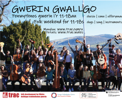 Book now for Gwerin Gwallgo 2020