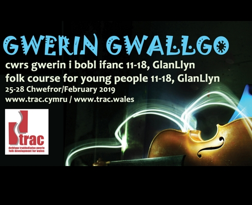 Come and meet the tutors of Gwerin Gwallgo 2019