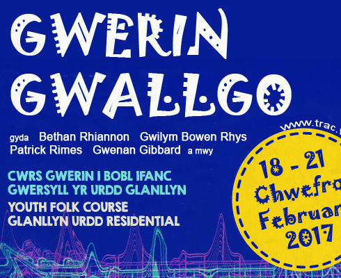Gwerin Gwallgo course for young folk – February 2017