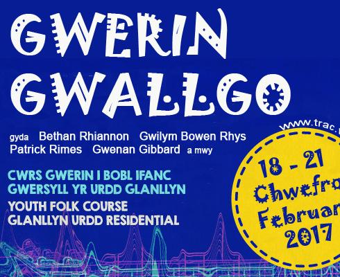 Gwerin Gwallgo course for young folk – February 2017