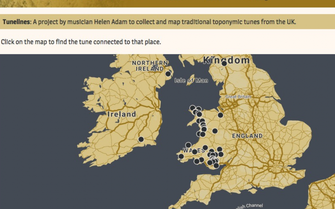 Tunelines-Musical Mapping in Wales and beyond