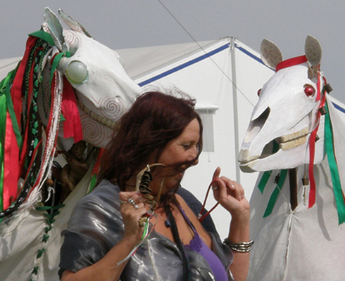 Mari Lwyd kit and book are now available online