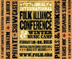 Folk Alliance International 2015