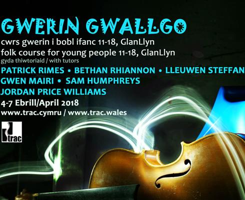 Gellwch archebu nawr ar Gwerin Gwallgo, cwrs i bobl ifanc 11-18