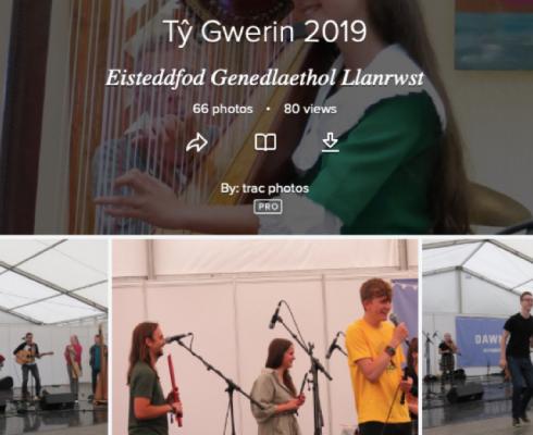 Lluniau Tŷ Gwerin 2019