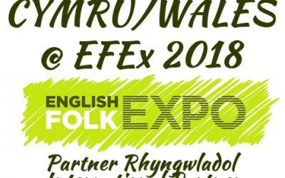 Cymru i fod yn Bartner Rhyngwladol yn EFEx 2018