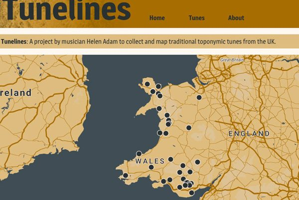 Tunelines – musical mapping with Helen Adam